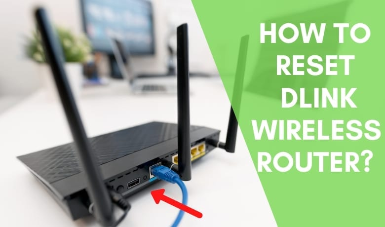 How to reset dlink router